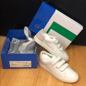 TORY SPORT - strap sneakers white